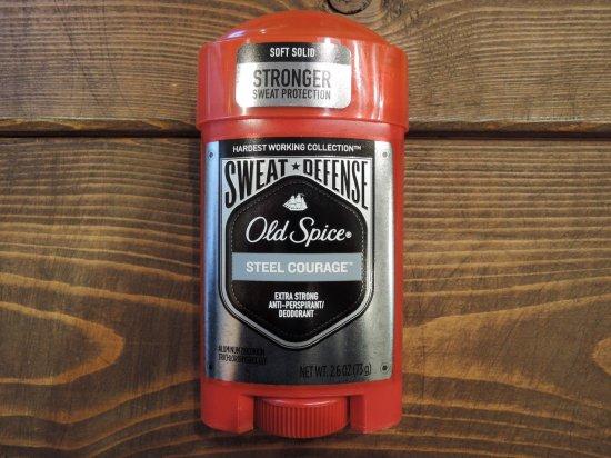 OLD SPICE オールドスパイス STRONGER  シリーズ最強 強力デオドラント 制汗剤 STEEL COURAGE