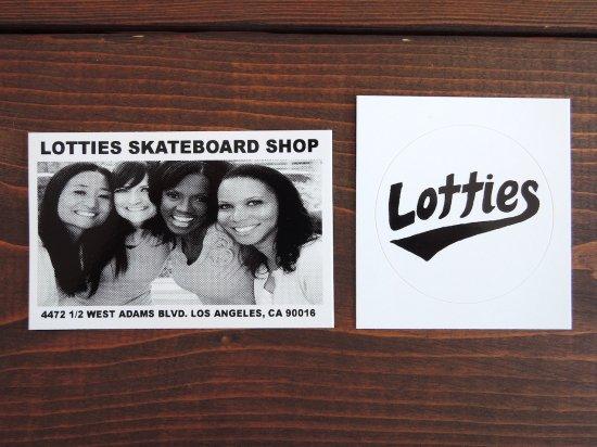 Lotties Skateshop  ロッティーズ  スケートショップ  STICKER B