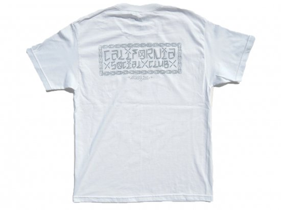 California Social Club CxSxC  S/S  Tシャツ  WHITE