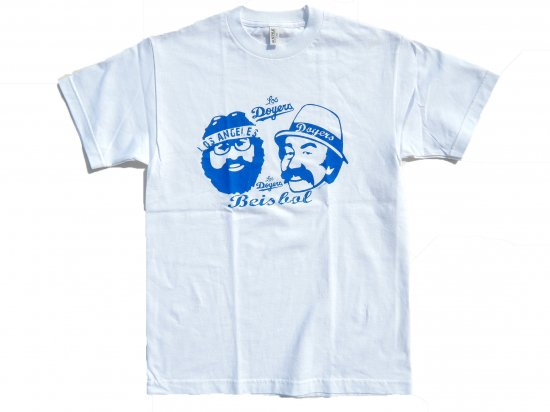 <img class='new_mark_img1' src='https://img.shop-pro.jp/img/new/icons53.gif' style='border:none;display:inline;margin:0px;padding:0px;width:auto;' />Los Doyers w/ Cheech&Chong's S/S T-shirt WHITE