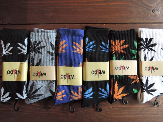 WEEDO  SOCKS 6 COLOR
