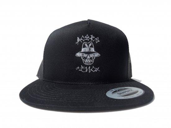 ACERS INC. エーサーズ  Vato Skull  Trucker Hat / Mesh Cap メッシュキャップ BK x GY