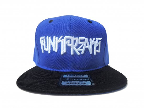 FUNK FREAKS ファンクフリークス  PLACASSO Snapback スナップバックCAP  BLUE