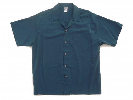 CalTop キャルトップ Dress Camp Shirt  オープンカラー ルーズシャツ SAGE BLUE  セージブルー