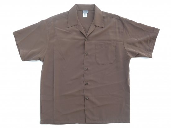 CalTop キャルトップ Dress Camp Shirt  オープンカラー ルーズシャツ TAN  タン