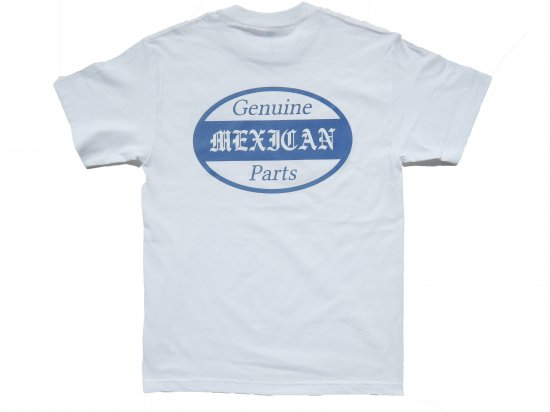 <img class='new_mark_img1' src='https://img.shop-pro.jp/img/new/icons15.gif' style='border:none;display:inline;margin:0px;padding:0px;width:auto;' />Genuine  MEXICAN  Parts   S/S T-shirt  WHITE