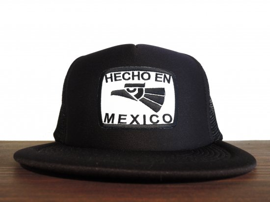<img class='new_mark_img1' src='https://img.shop-pro.jp/img/new/icons15.gif' style='border:none;display:inline;margin:0px;padding:0px;width:auto;' />HECHO EN MEXICO  TRUCKER HAT BKxWH