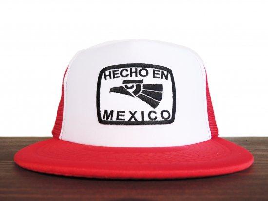 HECHO EN MEXICO  TRUCKER HAT RDxWH