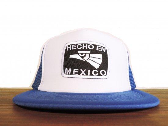 HECHO EN MEXICO  TRUCKER HAT ROYALxBK