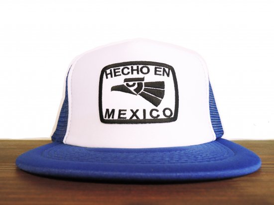 HECHO EN MEXICO  TRUCKER HAT ROYALxWH
