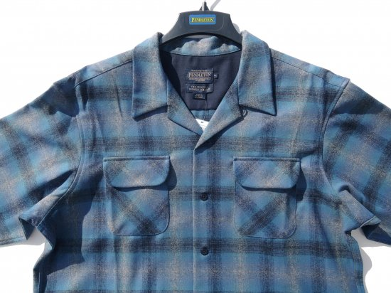 PENDLETON ペンドルトン Board Shirts  BLUE MULTI OMBRE