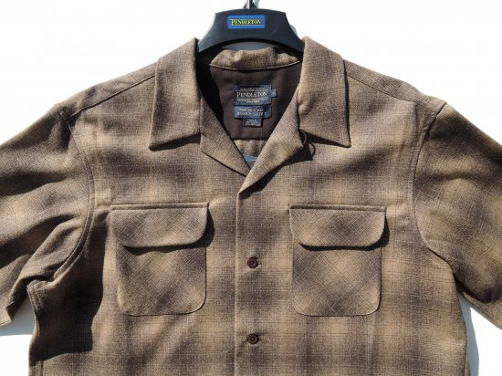 <img class='new_mark_img1' src='https://img.shop-pro.jp/img/new/icons15.gif' style='border:none;display:inline;margin:0px;padding:0px;width:auto;' />PENDLETON ペンドルトン Board Shirts  BROWN OMBRE