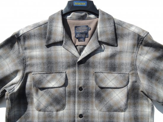 <img class='new_mark_img1' src='https://img.shop-pro.jp/img/new/icons15.gif' style='border:none;display:inline;margin:0px;padding:0px;width:auto;' />PENDLETON ペンドルトン Board Shirts GRAY CREAM  OMBRE
