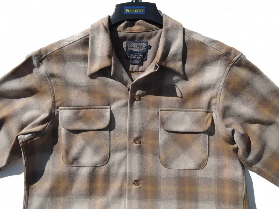 <img class='new_mark_img1' src='https://img.shop-pro.jp/img/new/icons15.gif' style='border:none;display:inline;margin:0px;padding:0px;width:auto;' />PENDLETON ペンドルトン Board Shirts TAN GOLD  OMBRE