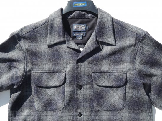 <img class='new_mark_img1' src='https://img.shop-pro.jp/img/new/icons15.gif' style='border:none;display:inline;margin:0px;padding:0px;width:auto;' />PENDLETON ペンドルトン Board Shirts NAVY/ GRAY OMBLE