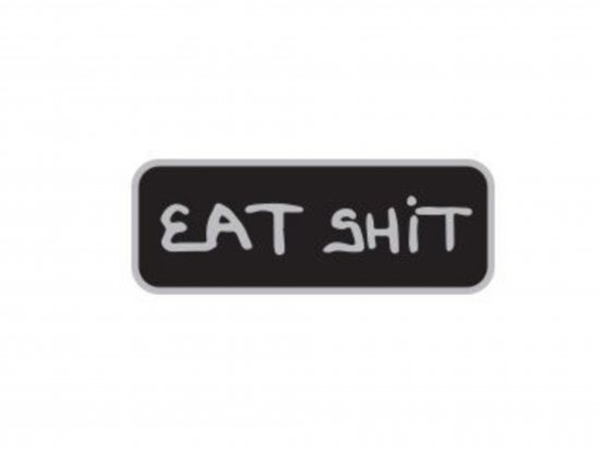HARD LUCK ハードラック Eat Shit Lapel pin