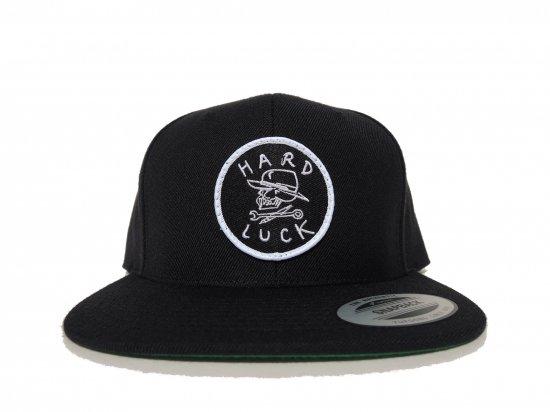 HARD LUCK ハードラック OG  SNAPBACK HAT  BLACK
