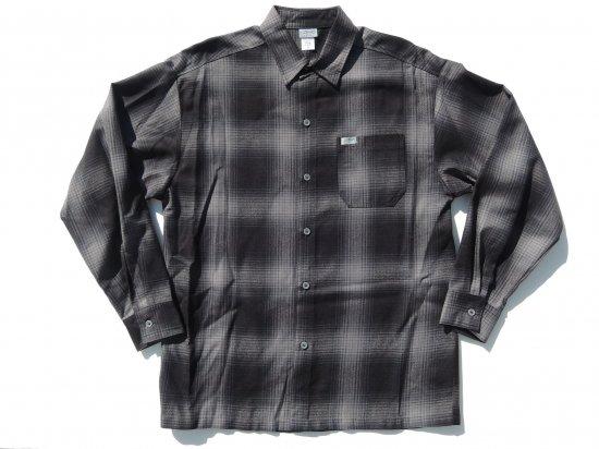 CalTop キャルトップ Long Sleeve Flannel Shirt フランネルシャツ BLACK&CHARCOL