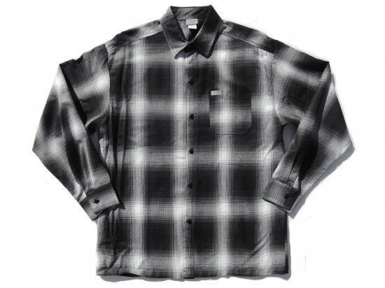 CalTop キャルトップ Long Sleeve Flannel Shirt フランネルシャツ BLACK & IVORY