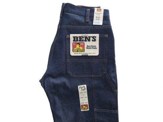 BEN DAVIS ベンデイヴィス ベンデイビス Carpenter's Pants #776 Rigid Indigo ペインターパンツ