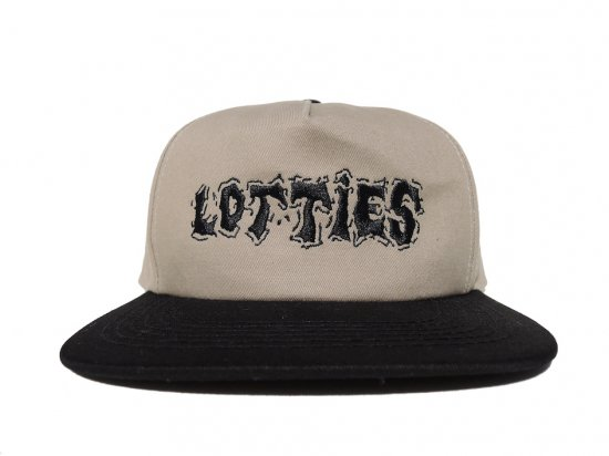Lotties Skateshop  ロッティーズ  Hat Tan n Black