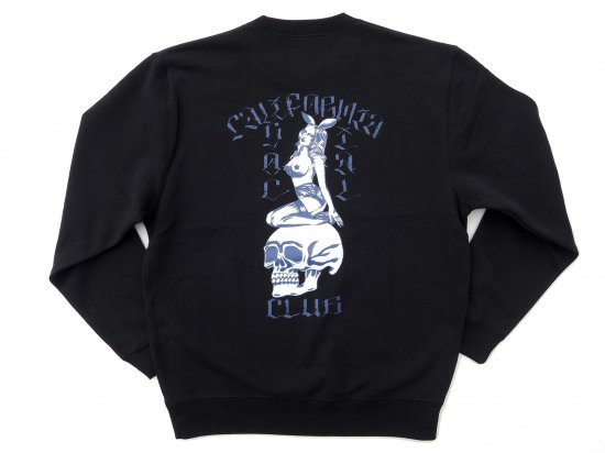 "C.S.C x JASON MCAFEE コラボ  ""Players Club"" SWEATSHIRT スウェット  BLACK"