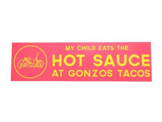 Gonzos Tacos Sticker A