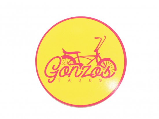 Gonzos Tacos Sticker B
