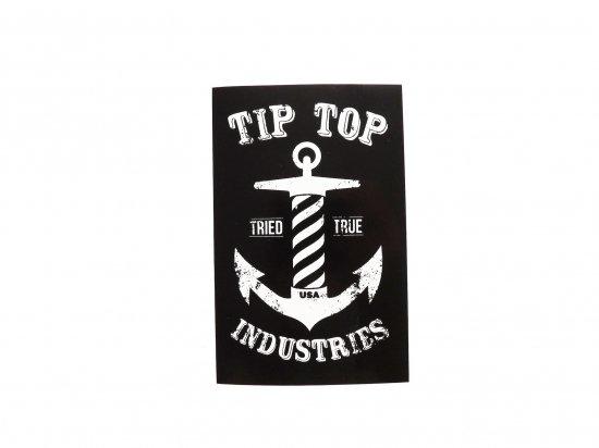 TIP TOP BARBERSHOP チップトップバーバーショップ   STICKER B