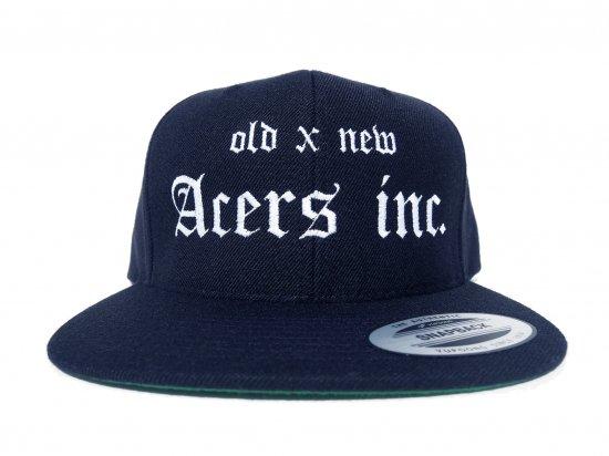 ACERS INC. エーサーズ   OG  HATS  NAVYxWHITE