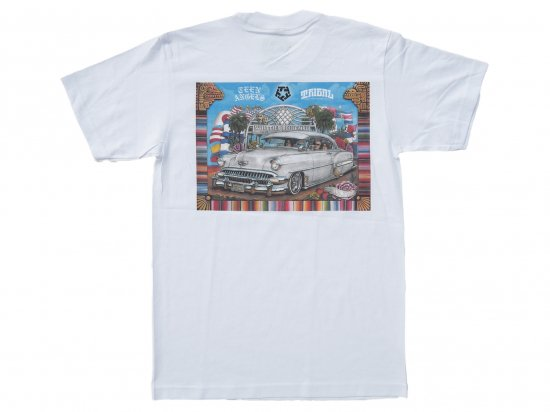 <img class='new_mark_img1' src='https://img.shop-pro.jp/img/new/icons15.gif' style='border:none;display:inline;margin:0px;padding:0px;width:auto;' />TEEN ANGELS  x TRIBAL STREETWEAR  COLLAB TEE  WHITE