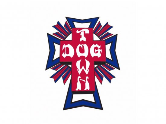 <img class='new_mark_img1' src='https://img.shop-pro.jp/img/new/icons15.gif' style='border:none;display:inline;margin:0px;padding:0px;width:auto;' />DOGTOWN  ドッグタウン Sticker  Cross Logo USA