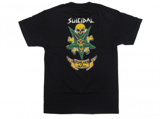 <img class='new_mark_img1' src='https://img.shop-pro.jp/img/new/icons15.gif' style='border:none;display:inline;margin:0px;padding:0px;width:auto;' />Suicidal Skates T-Shirt Possessed To Skate  BLACK