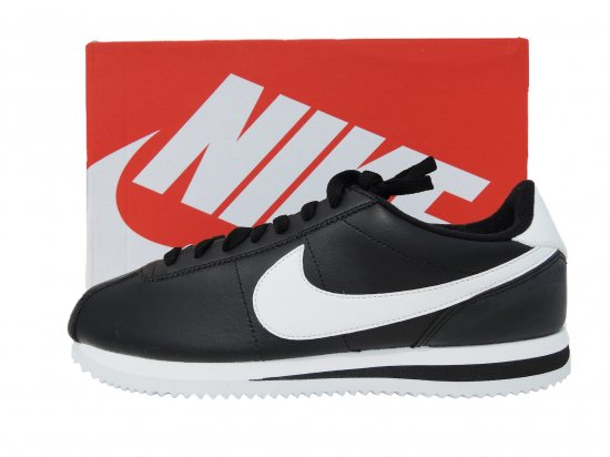 NIKE ナイキ US CORTEZ BASIC LEATHER   レザーコルテッツ  BLACK/WHITE