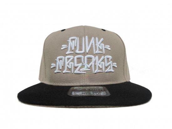 FUNK FREAKS ファンクフリークス   Eksen Flare  Snapback スナップバック  Khaki x Black