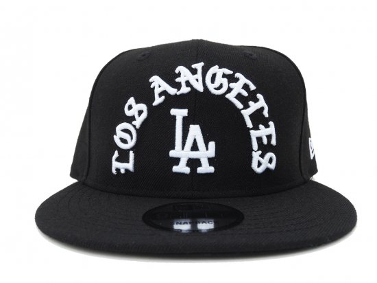 NEW ERA ニューエラ 9FIFTY  Los Angeles Dodgers Team Deluxe Snapback Cap BLACK