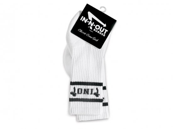 IN-N-OUT BURGER  INO SOCKS