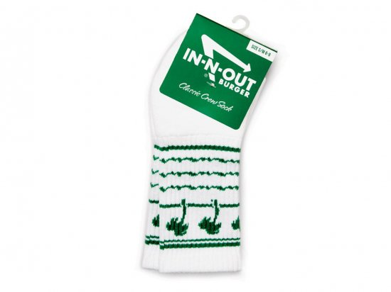 IN-N-OUT BURGER SHAKE CUP SOCKS