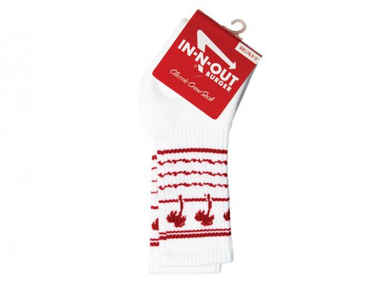 IN-N-OUT BURGER DRINK CUP SOCKS