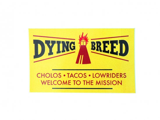 DYING BREED  STICKER ステッカー