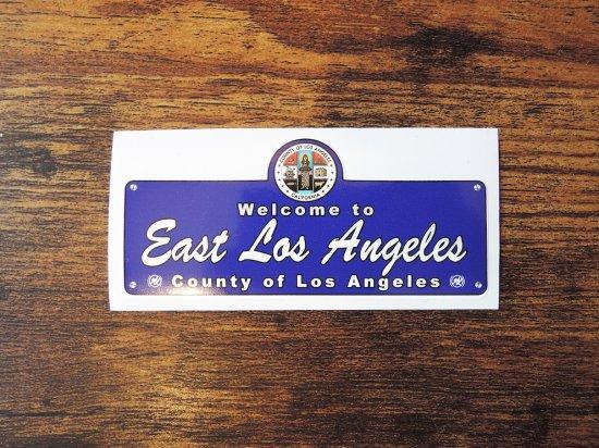 EAST LOS ANGELES LA COUNTY STICKER  ステッカー
