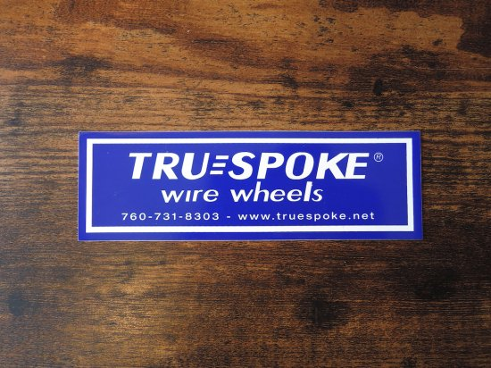 TRU三SPOKE  OFFICIAL STICKER  ステッカー