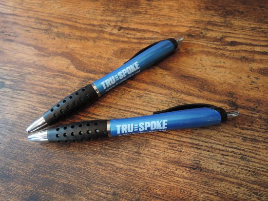 TRU三SPOKE  OFFICIAL BOLL-POINT PEN ボールペン