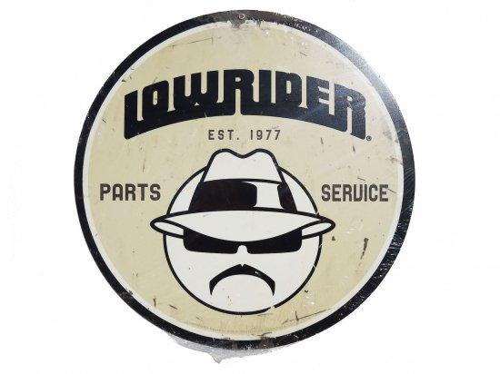 Lowrider Parts Service Steel Sign ローライダー ガレージサイン USスチール製