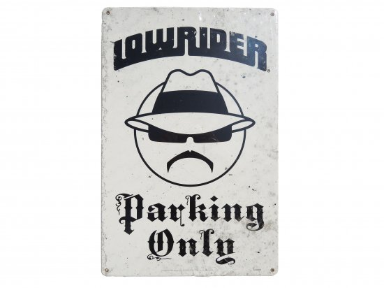 <img class='new_mark_img1' src='https://img.shop-pro.jp/img/new/icons15.gif' style='border:none;display:inline;margin:0px;padding:0px;width:auto;' />Lowrider Parking Only Steel Sign ローライダー ガレージサイン USスチール製