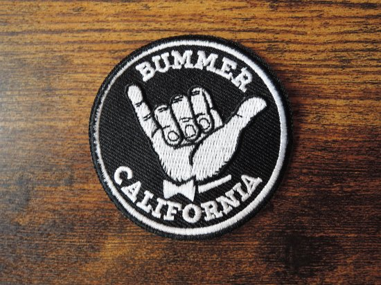 <img class='new_mark_img1' src='https://img.shop-pro.jp/img/new/icons15.gif' style='border:none;display:inline;margin:0px;padding:0px;width:auto;' />BUMMER CALIFORNIA SHAKA PATCH