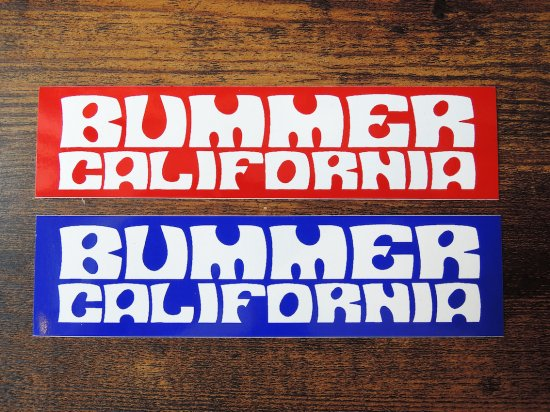 BUMMER CALIFORNIA SPACEMAN STICKER