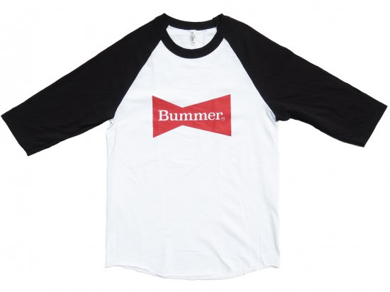 BUMMER CALIFORNIA BOW TIE 3/4 SLEEVE SHIRT