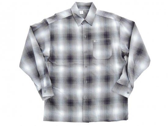 CalTop キャルトップ Long Sleeve Flannel Shirt フランネルシャツ GRAY & WHITE