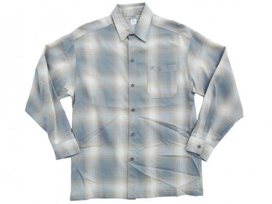 CalTop キャルトップ Long Sleeve Flannel Shirt フランネルシャツ H.GREEN x YELLOW